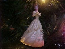 Disney PRINCESS BELLE Beauty & the Beast STORYBOOK CHRISTMAS ORNAMENT New