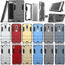 Shockproof Kick Stand Hybrid Hard PC Case Back Cover For Sony Motorola Phone