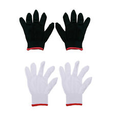 12 Pairs Nylon Safety Coating Work Gloves Builders Grip Protect S M L Cool ES PL
