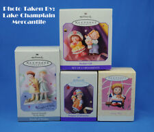 Hallmark Ornaments Lot of 4 SPRING easter BASHFUL GIFT special friends IN BOX
