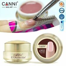 CANNI Builder Gel 15ml White Transparent Clear Pink 25 Color Nail Extending UV G