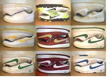 NIKE! AIR FORCE FLEX! PRESTIGE! WHITE BEIGE BURGUNDY RED YELLOW GREEN BLUE BLACK