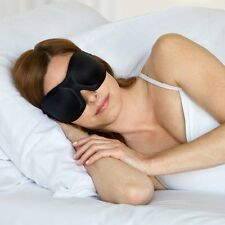 40 BLINKS SLEEP MASK by BUCKY, Woodcut Floral, Foil, or Solid Black, NEW!