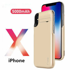 New Portable External 5000mAh Power Bank Battery Charger Case Cover For iPhone X