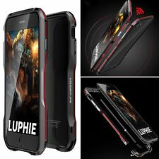 Luphie Aluminum Metal Shockproof Heavy Duty Bumper Case Cover For iPhone 8 7Plus