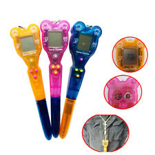 Electronic Ballpoint Pen Child Virtual Cyber Digital Pet Retro Game Toy Gift New