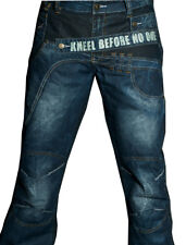 Mens Designer Jeans  blue  Denim High Waisted 30 32 34 36 38 w communist state
