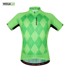 Mens Short Sleeve Cycling Jersey Riding Summer MTB Mountain Road Bike Shirt Tops