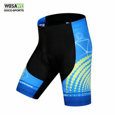 Mens Summer Cycling Shorts Riding Mountain Road Bike Silicon Padded Shorts Cool