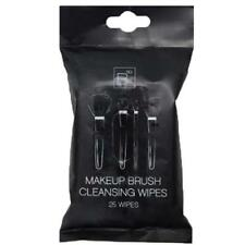 BSQ Professional 25 Pack Of  Makeup Brush Cleaning Cleansing Wipes Cleaner MUA