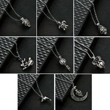 Oyster Pearl Elegant Simple Pendant Necklace Fashion Jewellery Gift Hollow girls