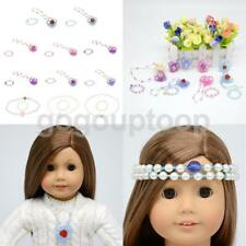 Multi Cute Necklace Bracelet Set Clothes Accessories for 18'' American Girl Doll