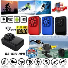 R3 Wifi Mini Camera Recorder HD Sports DV DVR Video Audio Camcorder Night Webcam