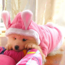 EP_ Trendy Pet Dog Cat Cute Bunny Warm Autumn Winter Clothes Puppy Costumes Appa