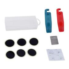 Bicycle Tire Tyre Repair Tool Set Kit Bike Tire Patches Lever Self-Adhesive