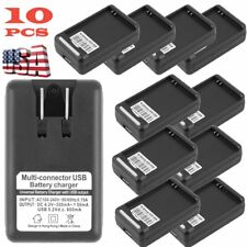 USB Battery Charger Adapter for Samsung Galaxy S 3 I9300 Black i535 T999 LOT