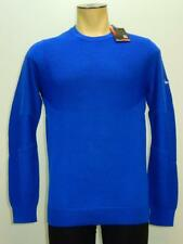 NWT $140 Nike Mens TW Engineered Blue Sweater Tiger Woods Collection #620148 491
