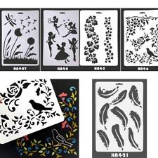 Hot Arts Craft DIY Painting Tool Album Stamping Mold Drawing Stencil Template