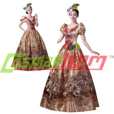 Medieval Renaissance Medieval Ball Gown Wedding Dress Royal ROCOCO Costume