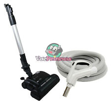 30' or 35' Deluxe Central Vacuum Kit w/Hose, Power Head & Wand - Vacumaid Royal