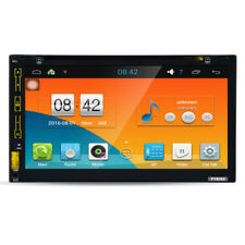 Wifi Android GPS Nav Car In Dash USB/SD/AUX/MP3/CD DVD Player 6.95 Double DIN FM