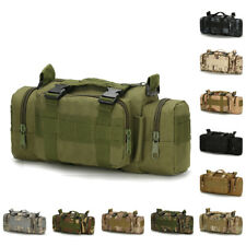 3P Military Tactical Molle Waist Bag Hiking Camping Fanny Pack Belt Fishing Bag