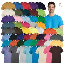 Gildan HEAVY COTTON ADULT T-SHIRT Pre-Shrunk Jersey Knit Blank Tee Plain T Shirt