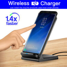 QI Wireless Fast Charger Charging Pad Dock For Samsung Galaxy S7 edge S9 Note 8