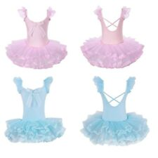 Kids Baby Girl Ballerina Ballet Dance Leotard Dress Gymnastics Dancewear Costume