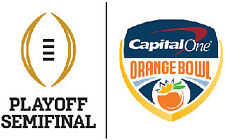 2018 College Football Playoff Semifinal Game Tickets - Front Row - Aisle Seats