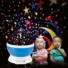 Romantic LED Starry Night Sky Galaxy Projector Lamp Star light Cosmos Decor Lamp