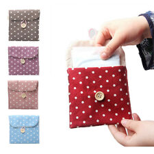 Cotton Diaper Sanitary Napkin Package Bag Travel Accessories Packing Organizers