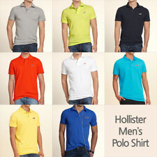 Hollister by Abercrombie Men's Polo Shirt New w Tag Size S/M/L 8 colors