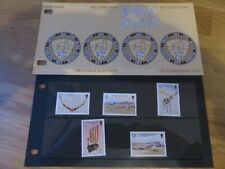 ISLE OF MAN STAMPS PRESENTATION PACKS - MINT CONDITION - 1986 - 1989
