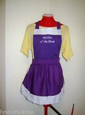 PERSONALISED KITCHEN TEA / BRIDAL SHOWER APRONS FOR BRIDE, BRIDESMAID ETC