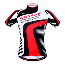 Mens Cycling Bike Jersey Summer Quick dry MTB Road Bicycle Shirt Sports Outdoor