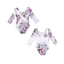 Toddler Baby Girls Romper Floral Jumpsuit Bodysuit One Piece Outfit Top Clothes