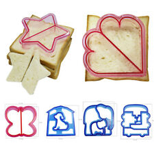Mould DIY Kids Sandwich Toast Cookies Cake Bread Biscuit Food Cutter Mold I0216