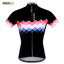 Women Cycling Summer Jersey Elastic Breathable Shirt Short Sleeve Mountain Bike