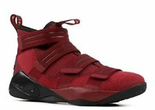 Nike Men's Lebron Soldier 10 Basketball Shoes Team Red, Black-white