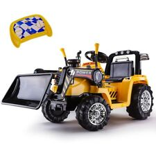 Bulldozer Tractor & Excavator Kids Ride On Car Toys Play Outdoor
