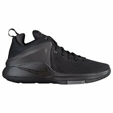 NIKE Mens Lebron Zoom Witness Basketball Shoes, Black/Black-dark Grey