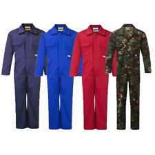 KIDS CHILDS CHILDRENS BOYS & GIRLS BOILERSUIT OVERALLS COVERALL BOILER SUIT