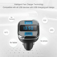 E5 Car Dual Port USB Charger Adapter For GPS phone tablet Camera MP3 PSP lot AU0