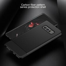 For Samsung Galaxy Note 8 Slim Carbon Fiber Shockproof Soft TPU Case Cover RT