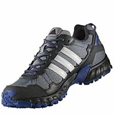 adidas Mens ROCKADIA Trail Running Shoes Black Blue Thrasher Kanadia Vigor CG37