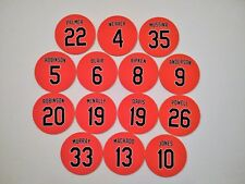 Baltimore Oriole Magnets - Pick A Player - Orioles Legend Magnets- Jersey Design