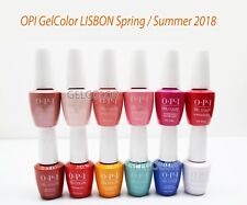 OPI GELCOLOR Soak Off UV LED Gel Polish 0.5oz 15ml LISBON COLLECTION Spring 2018