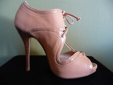 Escada SEXY Strappy Peep Toe Ankle Bootie High Heels * Womens Shoes size 7.5 - 8