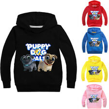 Boys Girls Kids Puppy Dog Pals Spring Fall Casual Sweatshirt Hoodies Pullover